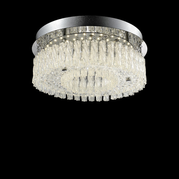 Small LED Crystal Ceiling Light 12W Integrated LED