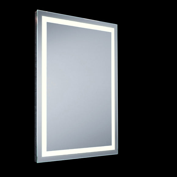 Small LED Mirror IP44 with Demister Pad & Sensor Switch 26W Integrated LED