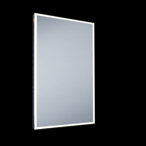 Small LED Mirror IP44 with Demister Pad & Sensor Switch 43W Integrated LED