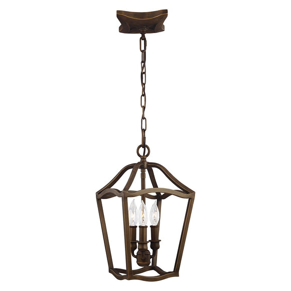 Feiss Yarmouth 3 Light Pendant FE-YARMOUTH-3P