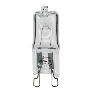 ML Accessories-G9-40W 240V G9 40W Capsule Lamp Clear Glass Warm White 3000K