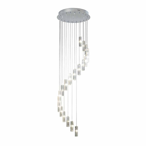 GALILEO 20lt Cluster LED Pendant Polished Chrome
