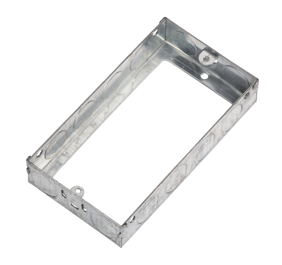 ML Accessories-GSE225 2G 25mm Galvanised Steel Extension Box
