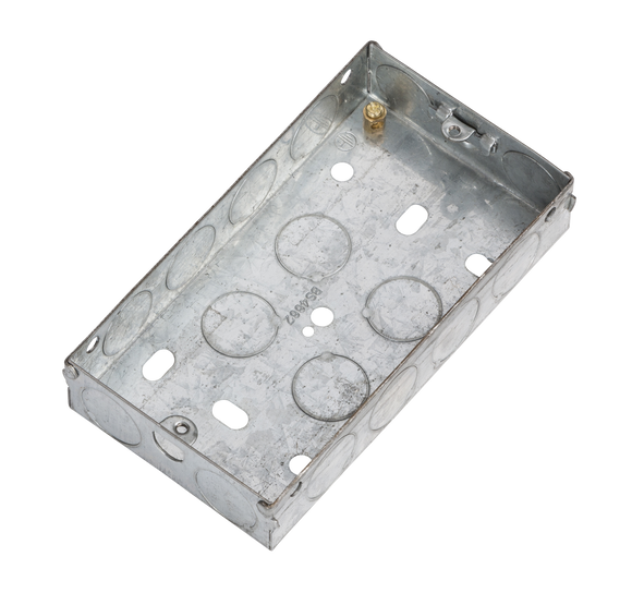 ML Accessories-GSK225 2G 25mm Galvanised Steel Box