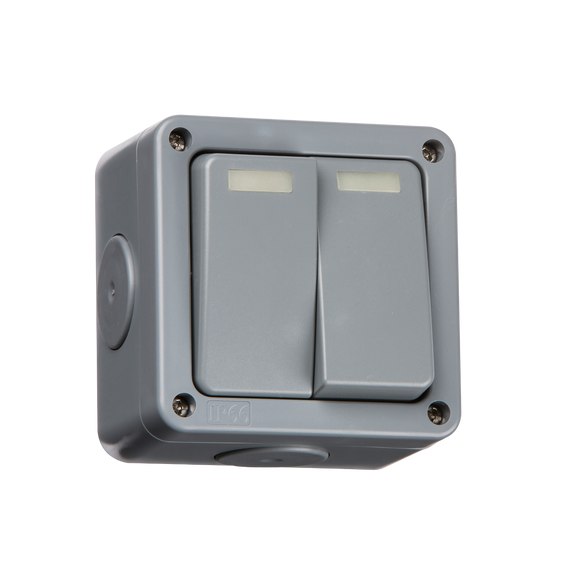 ML Accessories-IP3000 IP66 10A 2G 2-Way Switch