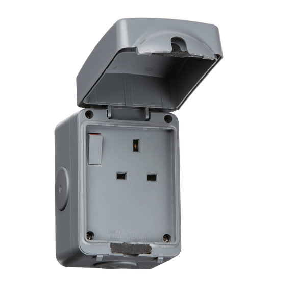 ML Accessories-IP7000 IP66 13A 1G DP Switched Socket