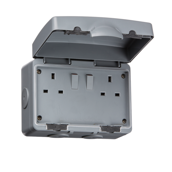 ML Accessories-IP9000 IP66 13A 2G DP Switched Socket