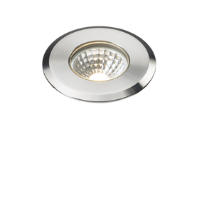 ML Accessories-LDGL5 230V IP65 5W LED Stainless Steel Recessed Ground Light 3000K