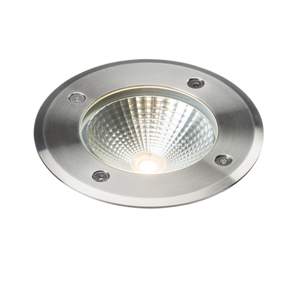 ML Accessories-LDGL6 230V IP65 6W LED Stainless Steel Recessed Ground Light 3000K