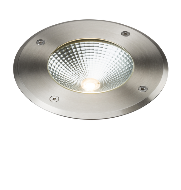 ML Accessories-LDGL9 230V IP65 9W LED Stainless Steel Recessed Ground Light 3000K