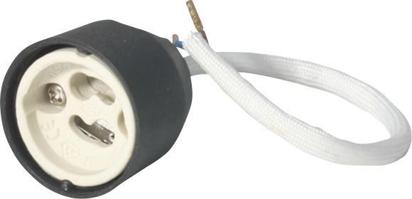 ML Accessories-LH02 GU10 Lampholder 260mm length silicon impregnated over sheathed cable