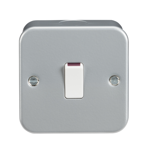 ML Accessories-M8341 Metal Clad 20A 1G DP Switch