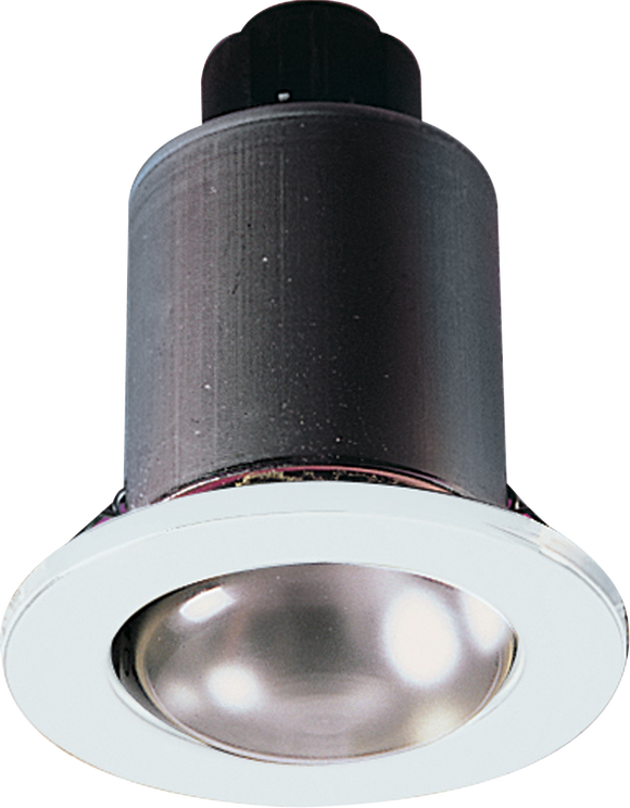 ML Accessories-MD03W IP20 230V 80W max. R80 White Mains Downlight