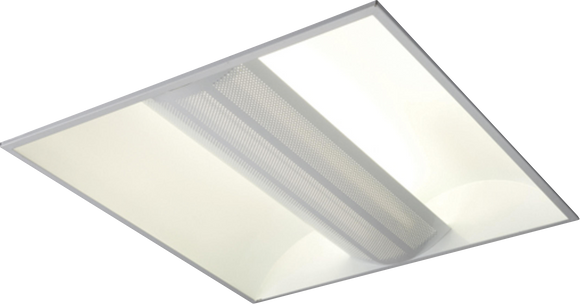 ML Accessories-MRD255PLEMHF 230V IP20 2x55W PL HF Perforated Panel Emergency Fluorescent Modular Fitting 600x600mm