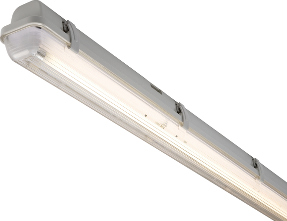 ML Accessories-NC65114HF 230V IP65 1X14W  T5  HF Single Non-Corrosive Fluorescent Fitting 2ft