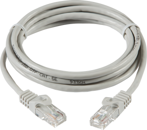 ML Accessories-NETC55M 5m UTP CAT5e Networking Cable - Grey