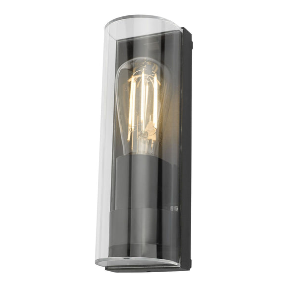 Quenby 1 Light Wall Light Anthracite IP65
