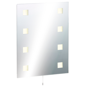 ML Accessories-RCT6045SD IP44 Rectangular Mirror with Demister and Dual Voltage Shaver Socket