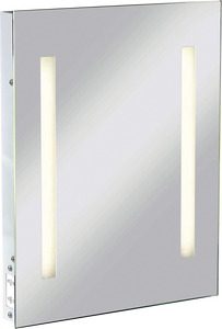 ML Accessories-RCTM2T8 IP44 Rectangular Mirror with Dual Voltage Shaver Socket