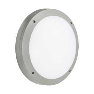 ML Accessories-SHE1GEMP 230V IP65 18W LED Round Bulkhead CCT with Emergency & Daylight Sensor Grey