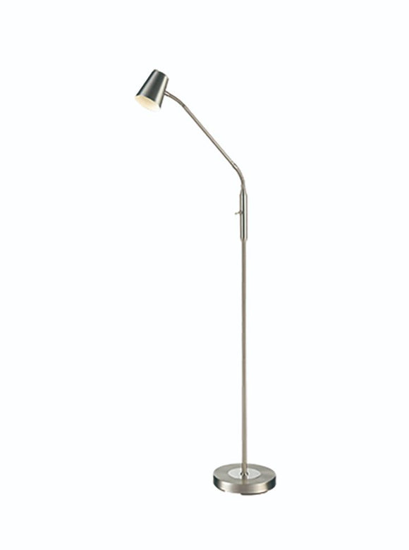 FRANKLITE SL248 Floor Reading/Craft LampWith Flexible Arm