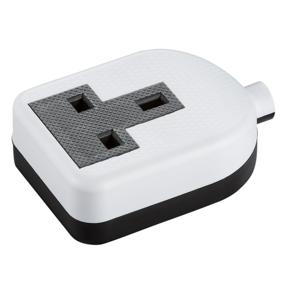 ML Accessories-SN2013W 13A 1G trailing socket - white