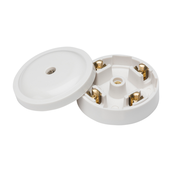 ML Accessories-SN8410 20A Junction Box 4-Terminal - White (59mm)