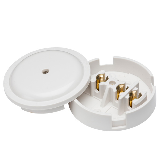 ML Accessories-SN8430 30A Junction Box 3-Terminal - White (89mm)