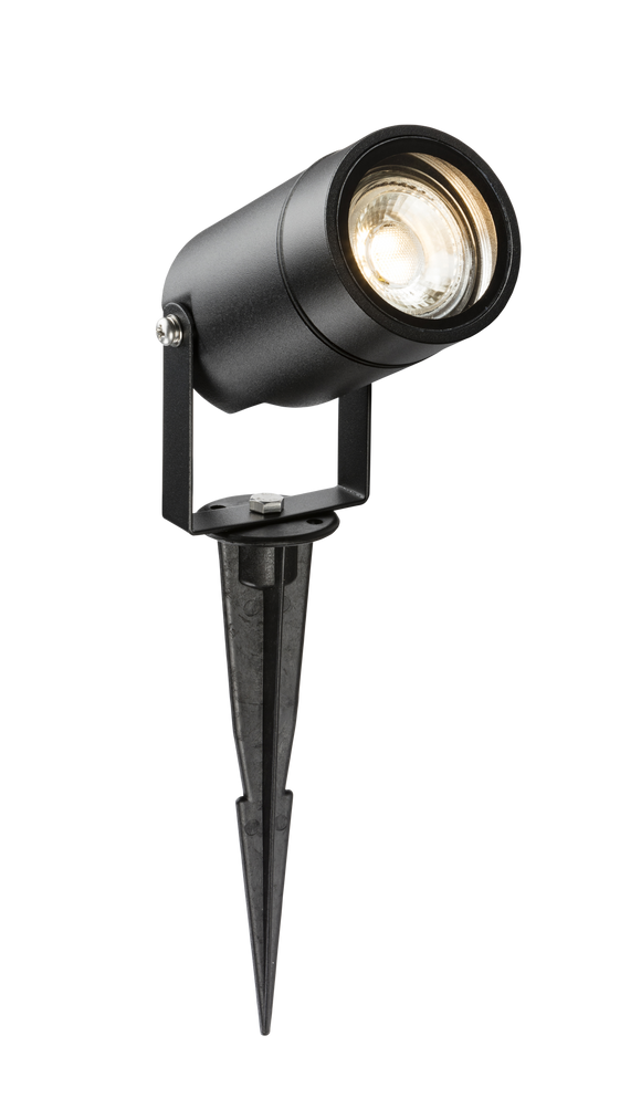 ML Accessories-SPIKEGUBK 230V IP65 GU10 Spike Light  Black
