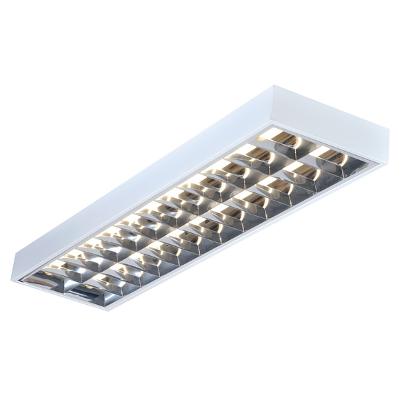 ML Accessories-SURF270EMHF IP20 2x70W 6ft T8 Surface Mounted Emergency Fluorescent Fitting 1785x300x80mm