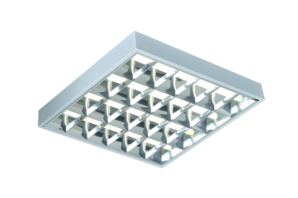ML Accessories-SURF418HF IP20 4x18W T8 CAT2 Surface Mounted Fluorescent Fitting 610x600x75mm