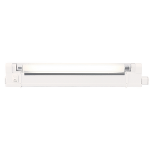 ML Accessories-T46A IP20 6W T4 Fluorescent Fitting with Tube, Switch and Diffuser 4000K