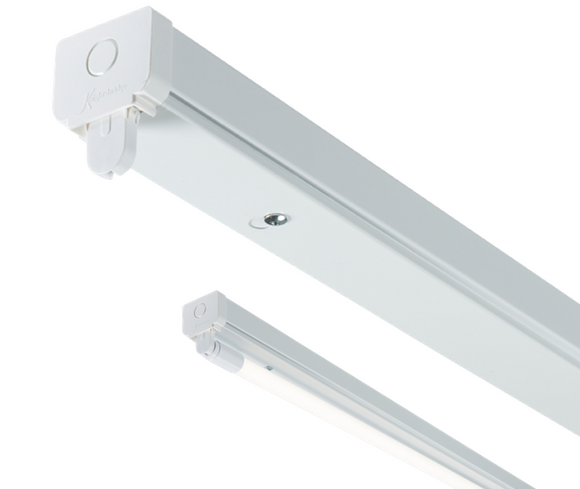 ML Accessories-T8LB15 230V T8 Single LED-Ready Batten Fitting 1525mm (5ft) (without a ballast or driver) **PACK OF 4**