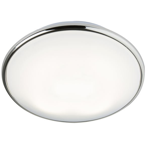 ML Accessories-TP28W2DCHF IP20 28W 2D HF Bulkhead with Opal Diffuser and Chrome Base