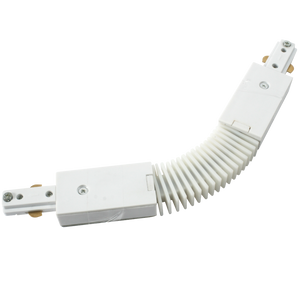 ML Accessories-TRKFCW 230V Single Circuit Track  Flexible Connector White