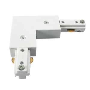 ML Accessories-TRKRAW 230V Track L Right Angle Connector - White