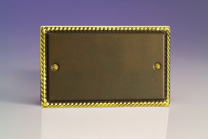 Varilight XADB Classic Antique Georgian Double Blank Plate