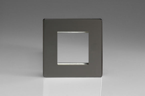 Varilight XDIG2S Screwless Iridium DataGrid Plate (2 Grid Spaces)