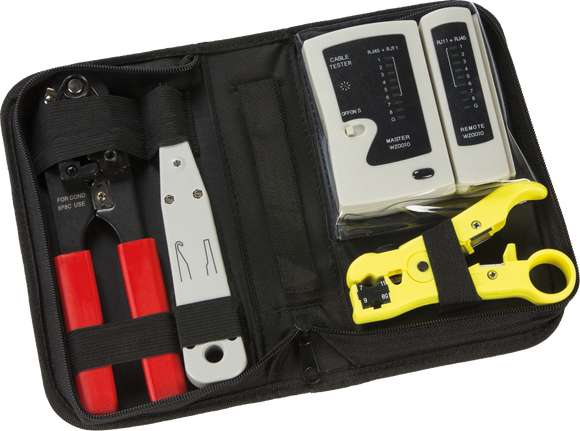 ML Accessories-XT901BX Structured Wiring Data and Network Installation Tool Kit
