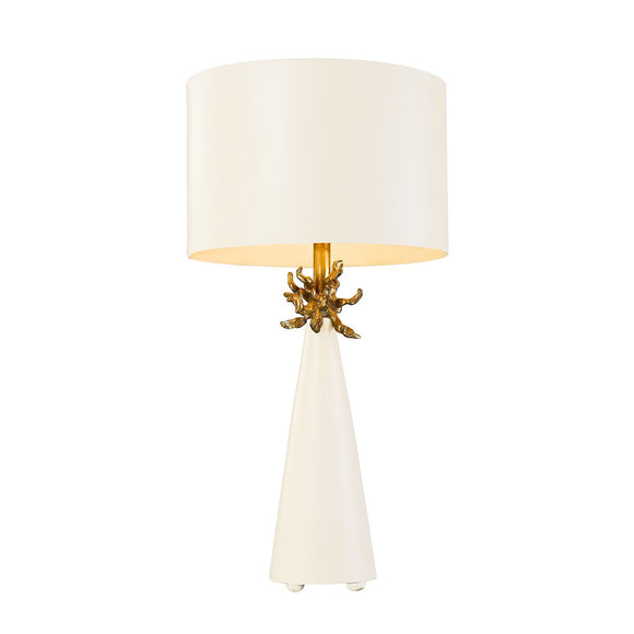 Flambeau Neo 1 Light Table Lamp FB-NEO-TL-FR-WHT