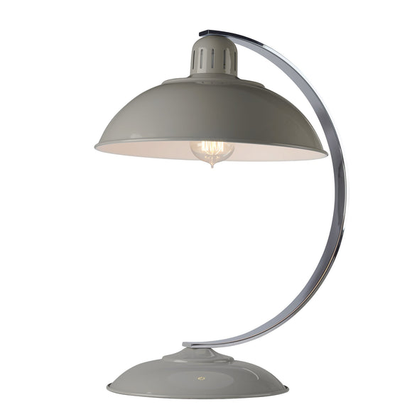 Elstead Franklin 1 Light Desk Lamp - Grey FRANKLIN-GREY