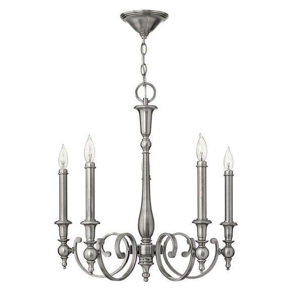 Hinkley Lighting Yorktown 5 Light Chandelier HK-YORKTOWN5