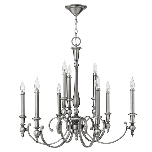 Hinkley Lighting Yorktown 9 Light Chandelier HK-YORKTOWN9