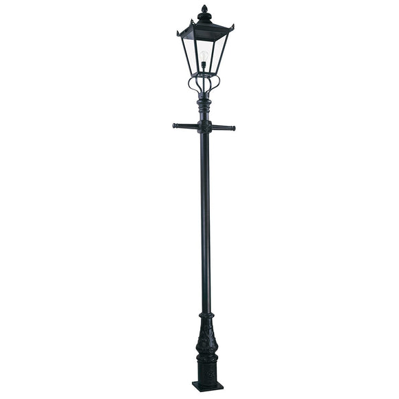 Elstead Wilmslow 1 Light Lamp Post WSLP1-BLACK*