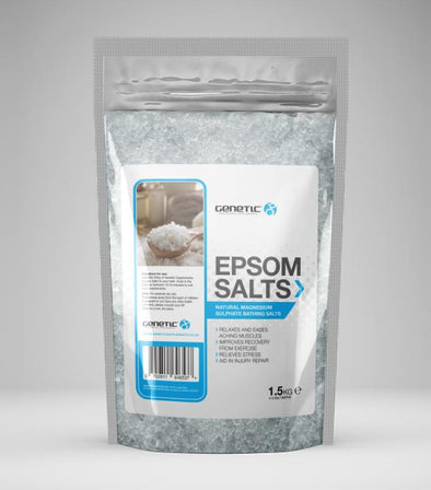 EPSOM MAGNESIUM SALTS 1.5KG - Genetic Nutrition