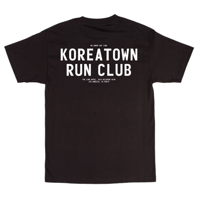 THE LINE HOTEL x KRC: BLACK CLUB T-SHIRT