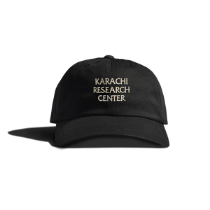 KRC: KARACHI RESEARCH CENTER LOGO CAP