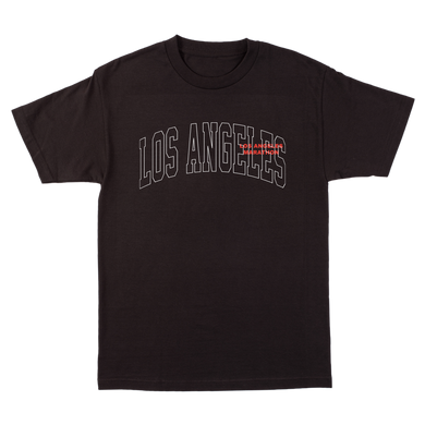 KRC LOS ANGELES MARATHON BLACK T-SHIRT