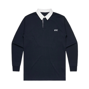 KRC EMBROIDERED RUGBY IN NAVY