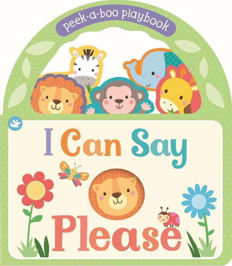 I Can Say Please - Board Book
